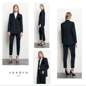 Sandro Paris Spring Collection Tailored Velvet